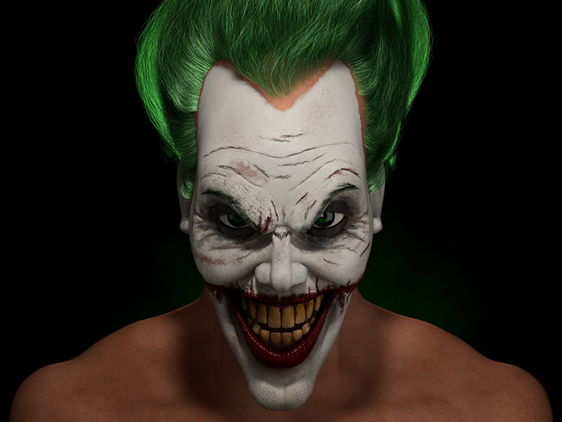 3d-character-portrait-the-joker-epic-animation-studios-kenya